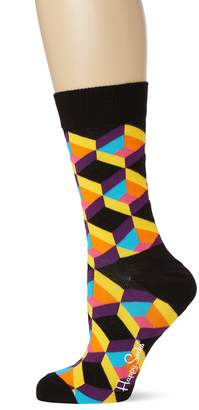 Happy Socks Women's Optiq Square Sock