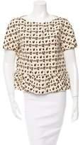 Giambattista Valli Leopard Print Peplum Jacket