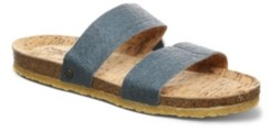 BearPaw Women's Lilo Vegan Flat Sandals Women's Shoes