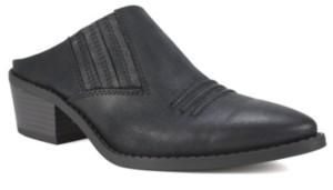 White Mountain Carleton Western Mules Women's Shoes