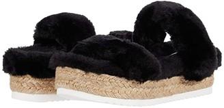 Steve Madden Katana Sandal (Black) Women's Shoes
