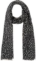 Barneys New York WOMEN'S STAR-PATTERNED GAUZE SCARF