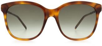 Gucci Gg0654s Havana Sunglasses