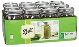 Ball Set of 12 32 Ounce Wide Mouth Jars