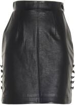 Thumbnail for your product : MATÉRIEL High-Waisted Mini Skirt