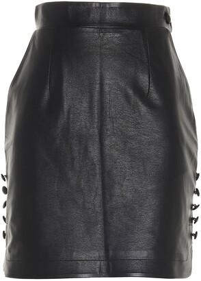 MATÉRIEL High-Waisted Mini Skirt