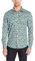 Parke & Ronen Men's Long Sleeve Print Long Sleeve