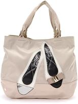 Salvatore Ferragamo Pre-Owned Pink Tote With Shoe Details