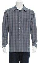 Ermenegildo Zegna Pinstripe Button-Up Shirt