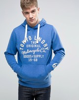 Tokyo Laundry Overhead Hoodie with Front Print