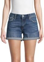 Joe's Jeans Rolled Cuff Denim Shorts