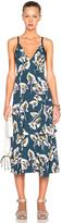 Marni Printed Tiered Tank Dress