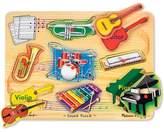 Melissa & Doug Musical Instruments Sound Puzzle - Wooden Peg Puzzle (8pc)