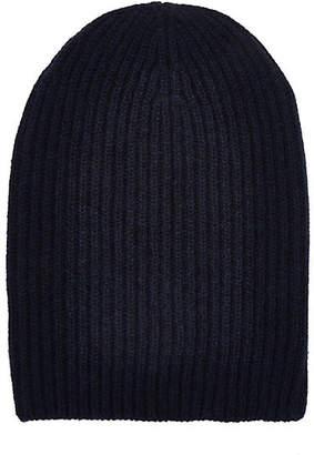 Barneys New York Women's English Rib-Knit Beanie - Navy