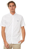 Barney Cools Cools Flag Mens Ss Shirt White