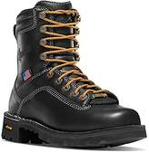 """DANNER BOOTS Danner Women's Quarry USA 8"""" AT ( Alloy Toe) Vibram Sole Oil & Slip Resistant   Made In USA Waterproof GORE-TEX (GTX)   Modern Battlefield Combat Boot   Electrical Hazard Boot Leather (9.5 M)"""