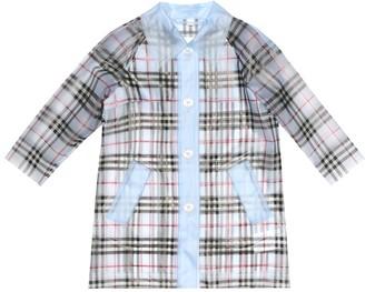 BURBERRY KIDS Checked raincoat