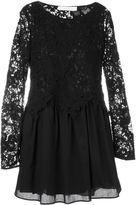 See by Chloe guipure lace layered dress - women - Cotton/Viscose - 42