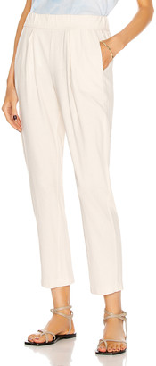 Raquel Allegra Easy Pant in Washed White | FWRD
