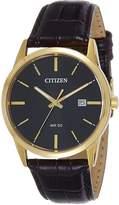 Citizen Men's BI5002-06E Leather Quartz Fashion Watch
