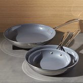 Crate & Barrel ZWILLING ® J.A. Henckels VistaClad Ceramic Non-Stick Fry Pans