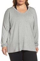 Zella Plus Size Women's She's Cute Terry Pullover