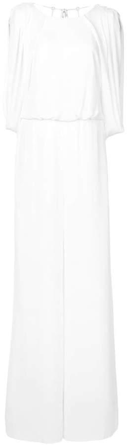 Halston palazzo jumpsuit