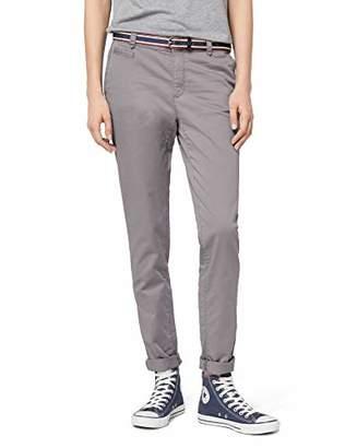 Esprit Women's 998ee1b801 Trouser, (Light Grey 040), 8 (Size: 34/32)