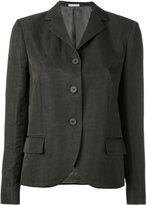 Tomas Maier high lapel jacket - women - Linen/Flax/Acetate/Cupro/Viscose - 4