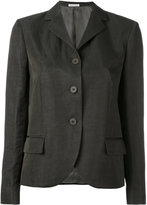 Tomas Maier high lapel jacket - women - Linen/Flax/Acetate/Cupro/Viscose - 8