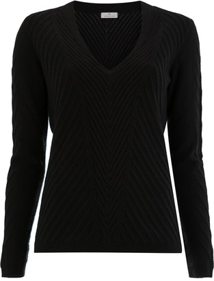 Maison Ullens Cashmere Ribbed Knitted Jumper