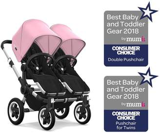 Bugaboo Donkey 2 Twin Pushchair- Soft Pink