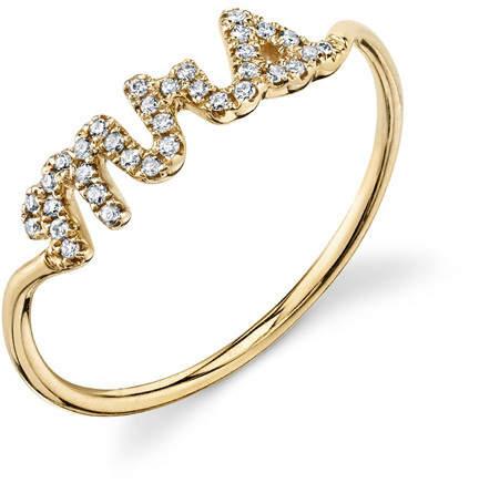 Sydney Evan Mrs. Pave Diamond Ring
