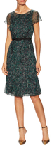 Carolina Herrera Silk Semi-Sheer Dress