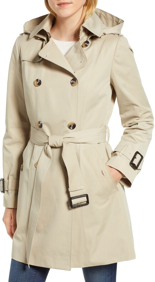 f0f8f474a Trench Coat with Detachable Liner & Hood