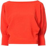 Rachel Comey boat neck sweater - women - Polyester - 2