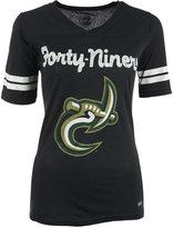 Soffe Women's Short-Sleeve Charlotte 49ers V-Neck T-Shirt