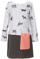 Joules Little Girls 3-6 Suzy Dog Printed Patch-Pocket Dress
