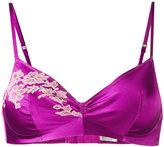 Carine Gilson Soft bra - women - Silk/Polyamide/Spandex/Elastane/Rayon - S