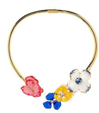Kenneth Jay Lane Flower Necklace