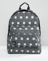 Mi-Pac Chevron Polka Backpack Black