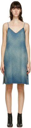 MM6 MAISON MARGIELA Blue Denim Tank Dress