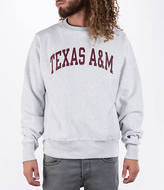 Champion Men's Texas A & M Aggies College Weave Crew Sweatshirt