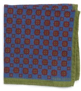 Michael Bastian Men's Medallion Pocket Square