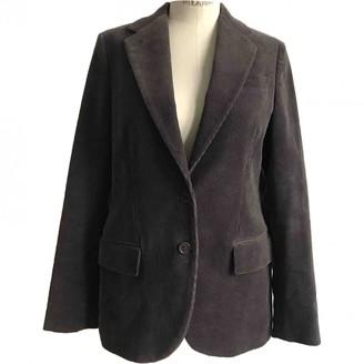 Helmut Lang Grey Velvet Jackets