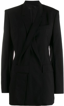Haider Ackermann Slashed Lapel Jacket