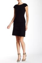 Tahari Cap Sleeve Sheath Dress