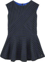 Kenzo Openwork taffeta dress