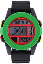 Nixon Men's A197-114 Silicone with Dial Watch