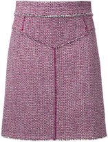 Chloé A-line skirt - women - Cotton/Polyester/Spandex/Elastane/other fibers - 38